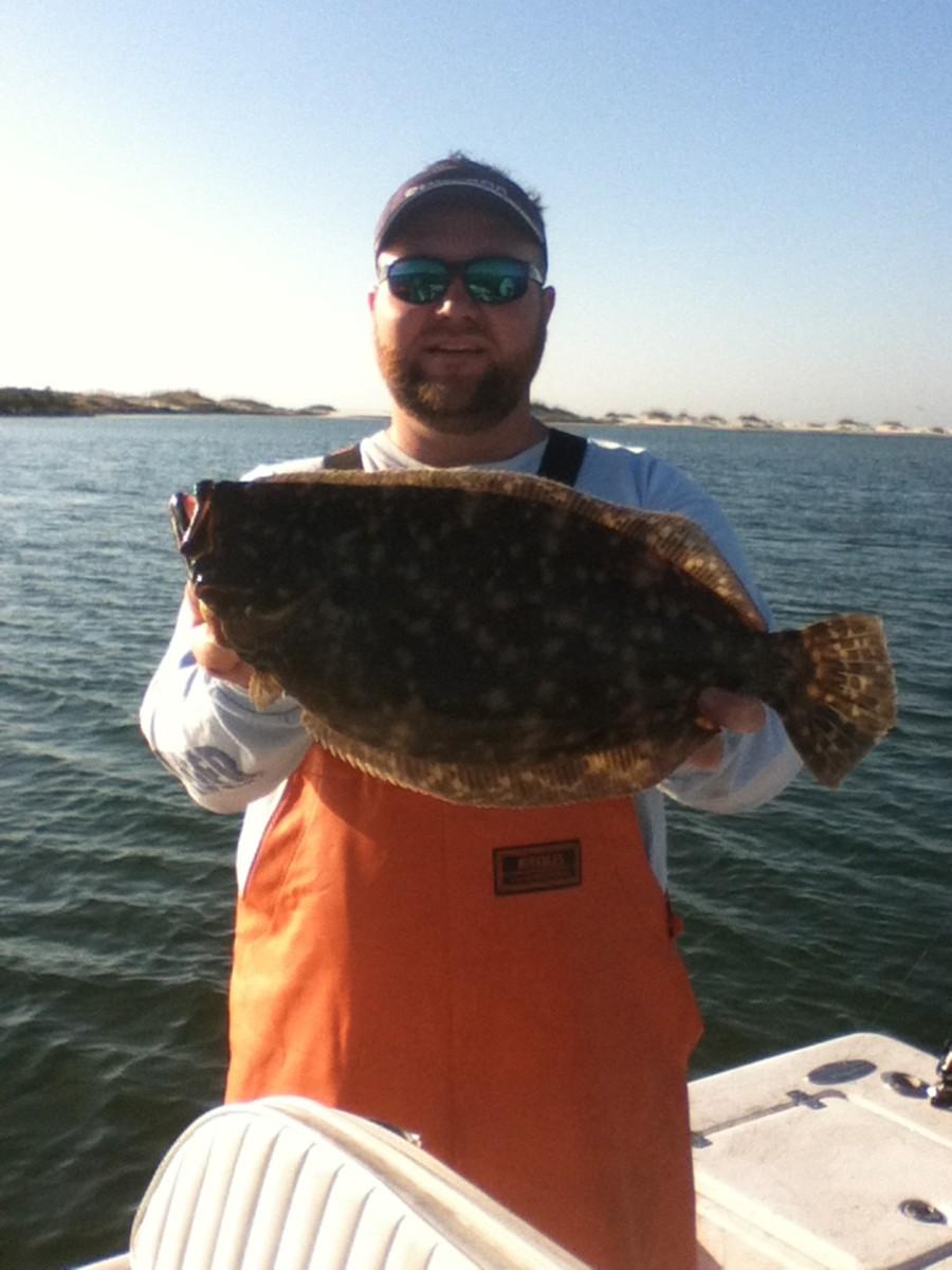 A nice doormat flounder.