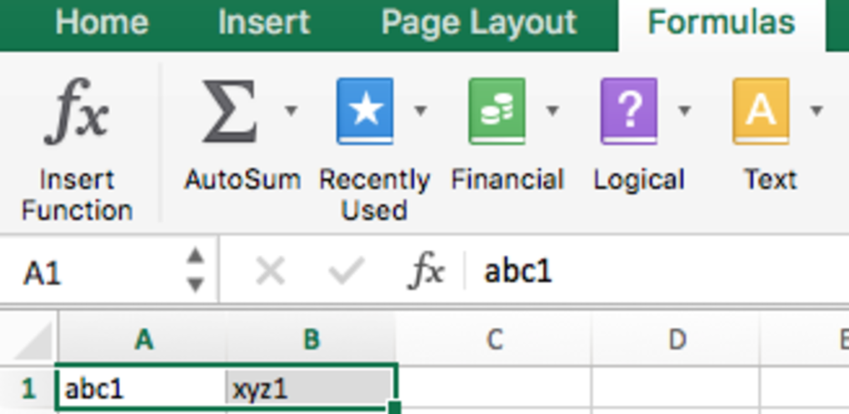 MS Excel Tutorial: How to Substitute or Replace Text