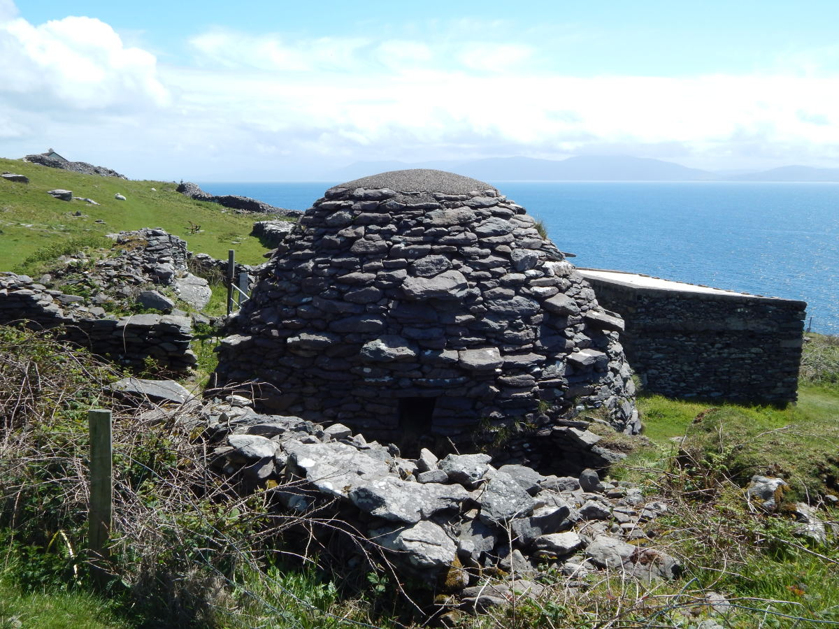 Beehive hut on the Dingle Peninsula