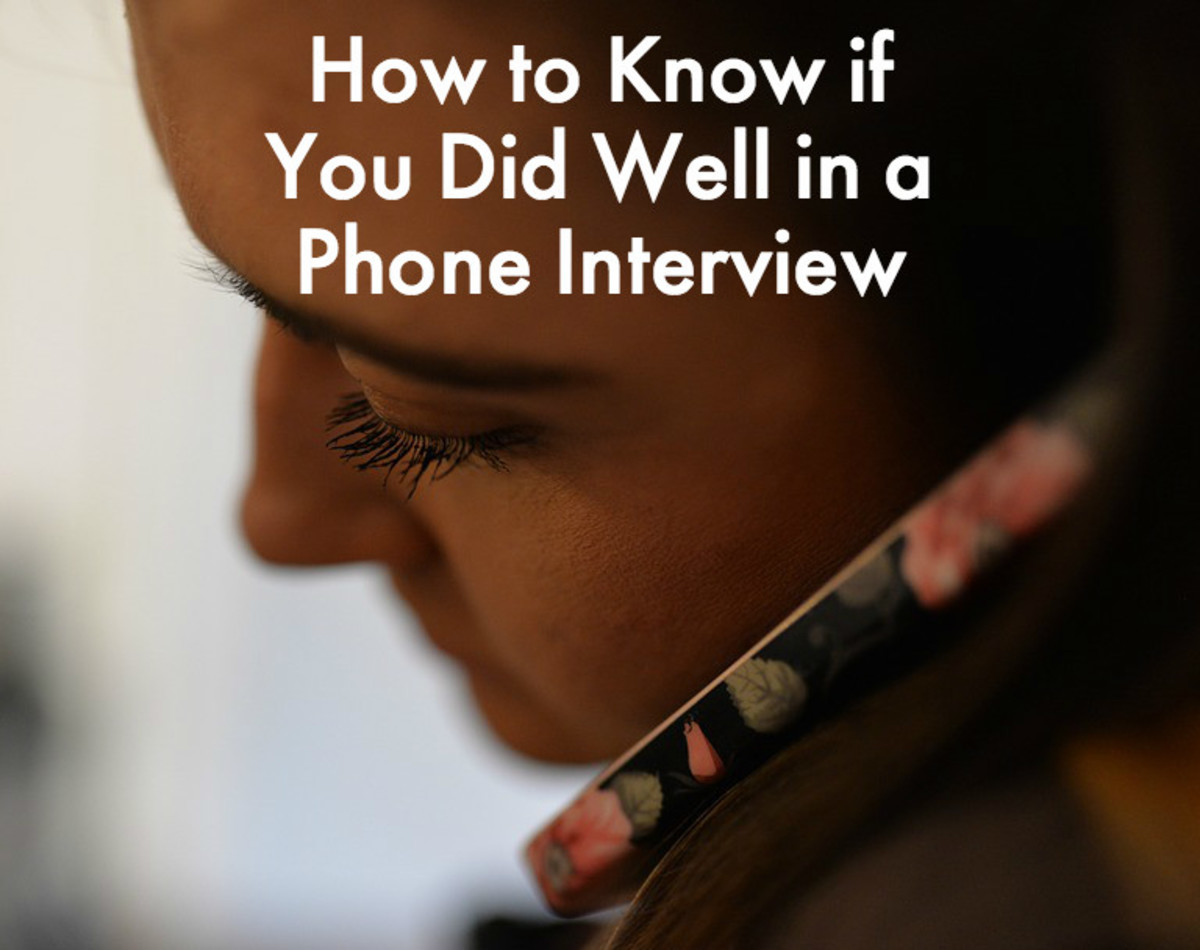 6 Signs to Know That a Phone Interview Went Well