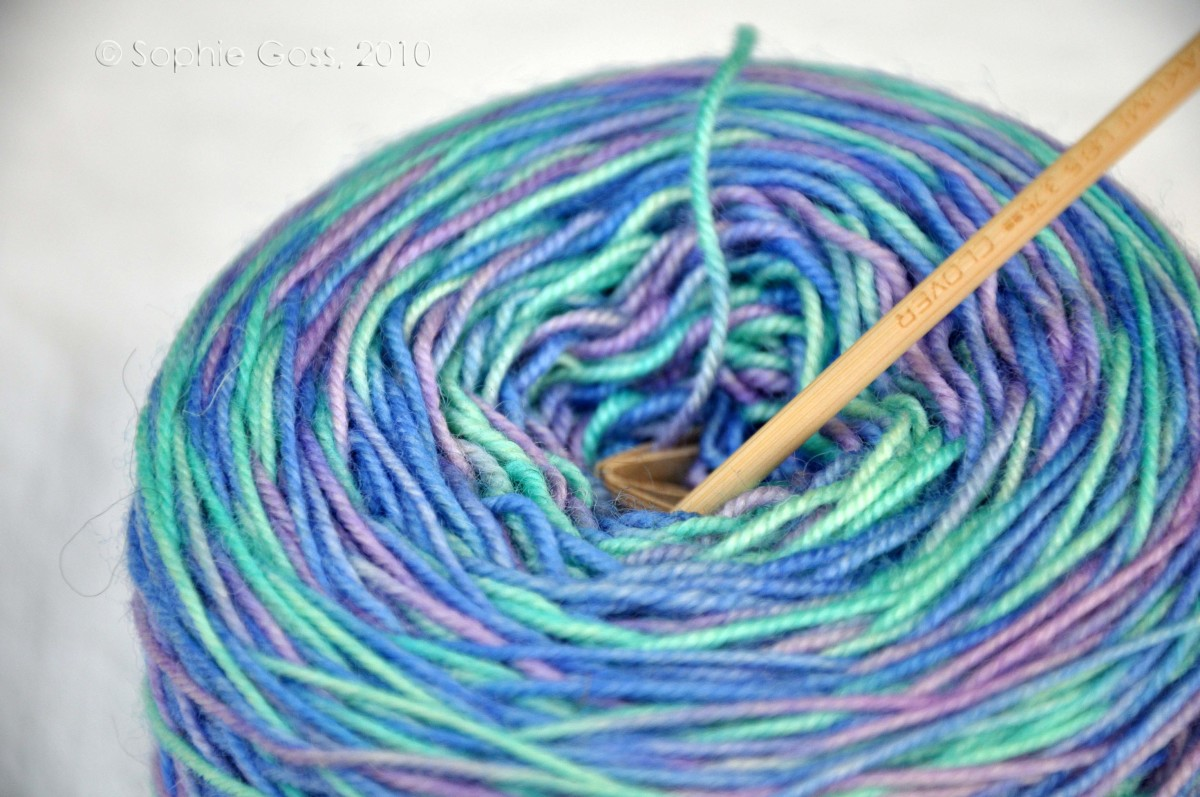 Soften Up That Stiff, Scratchy Acrylic Yarn