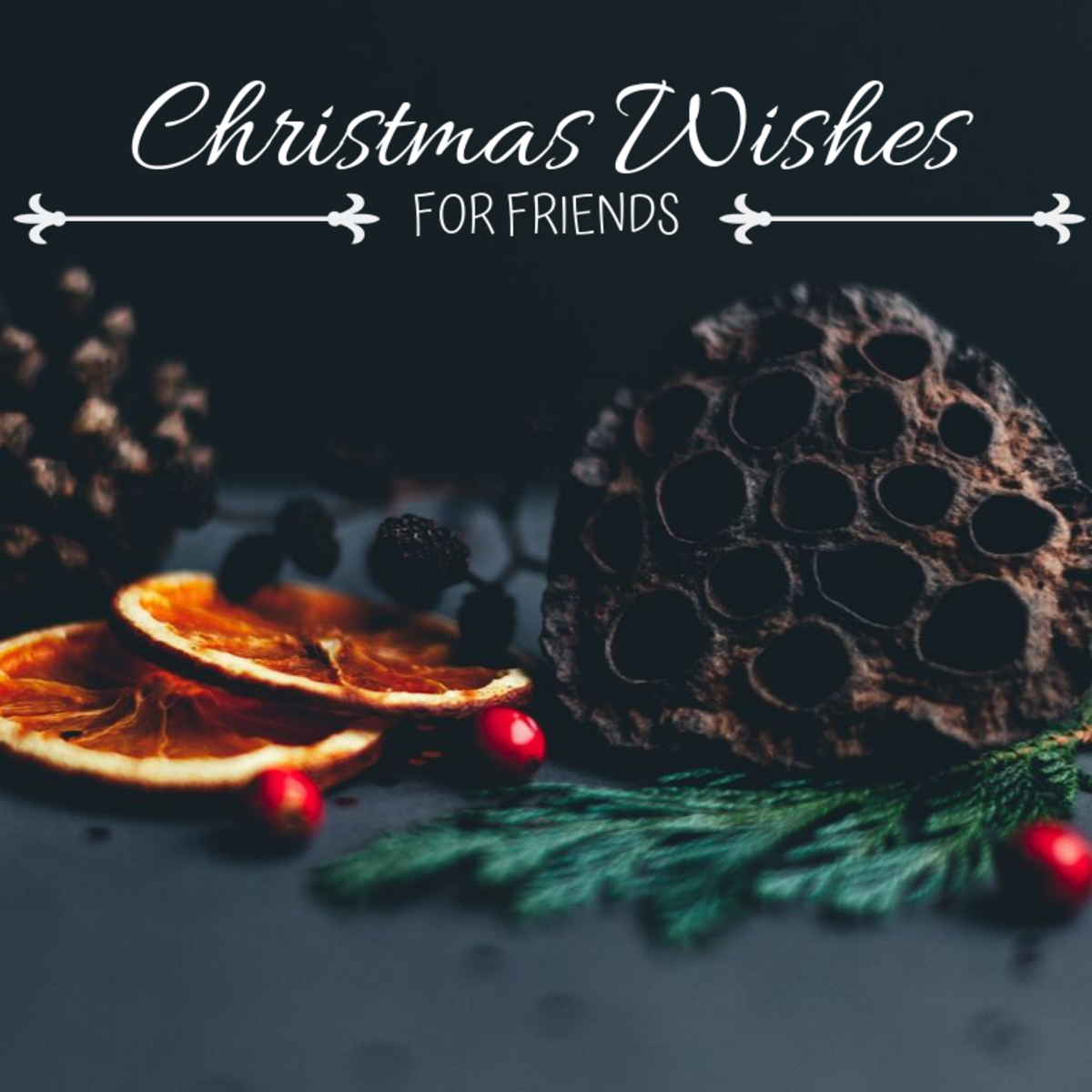 Most of us spend Christmas with family, so sending cards to the friends we can't be with during the holidays is a great way to remind them that they're family, too!