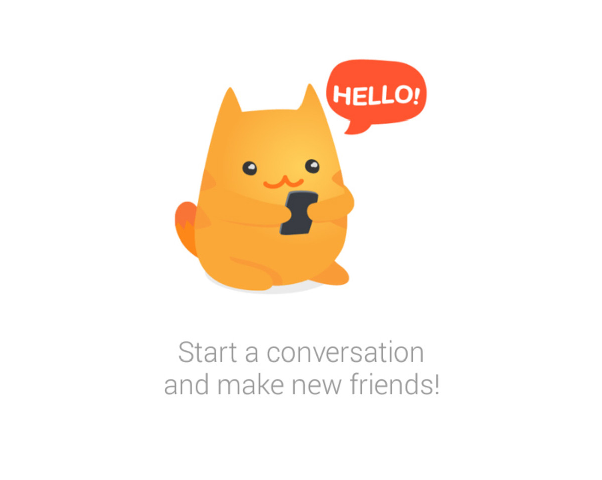what is meow chat app