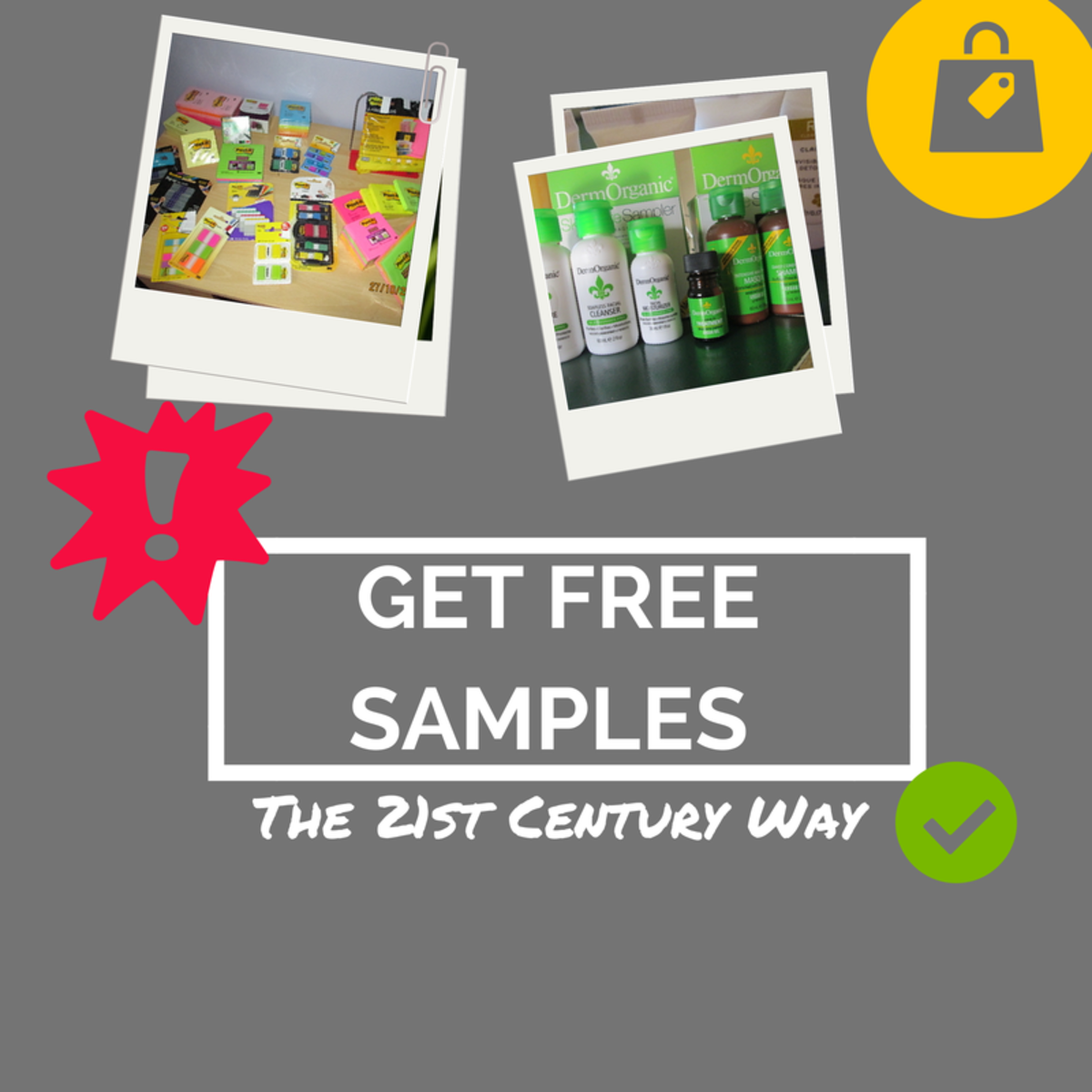 Get some tips for finding free samples and avoiding scams.