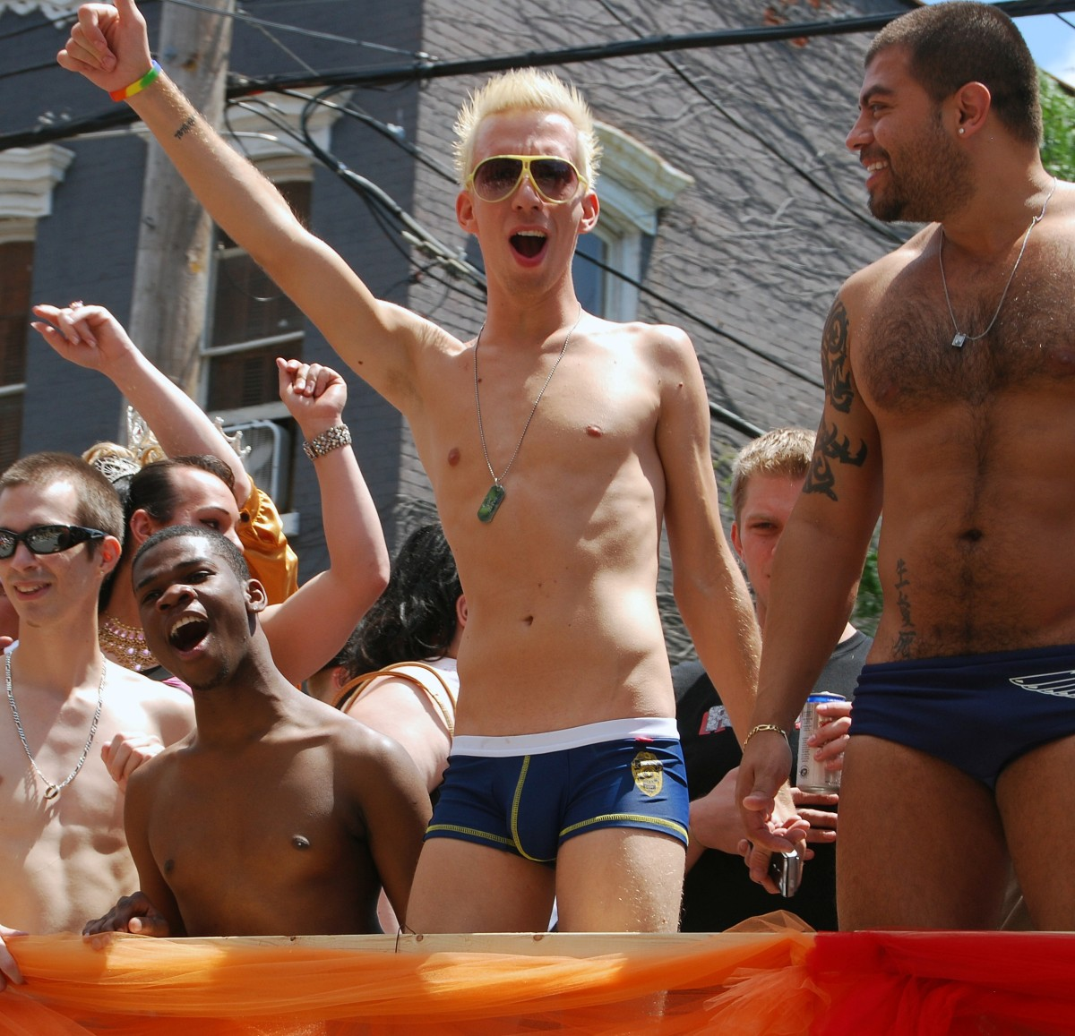 Capital Gay Pride parade in Albany 2009