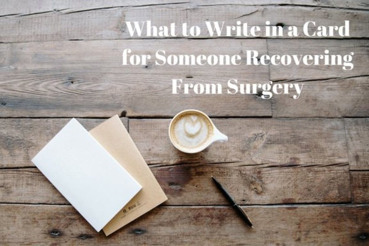 How to Write Get-Well-Soon Messages and Wishes After Surgery