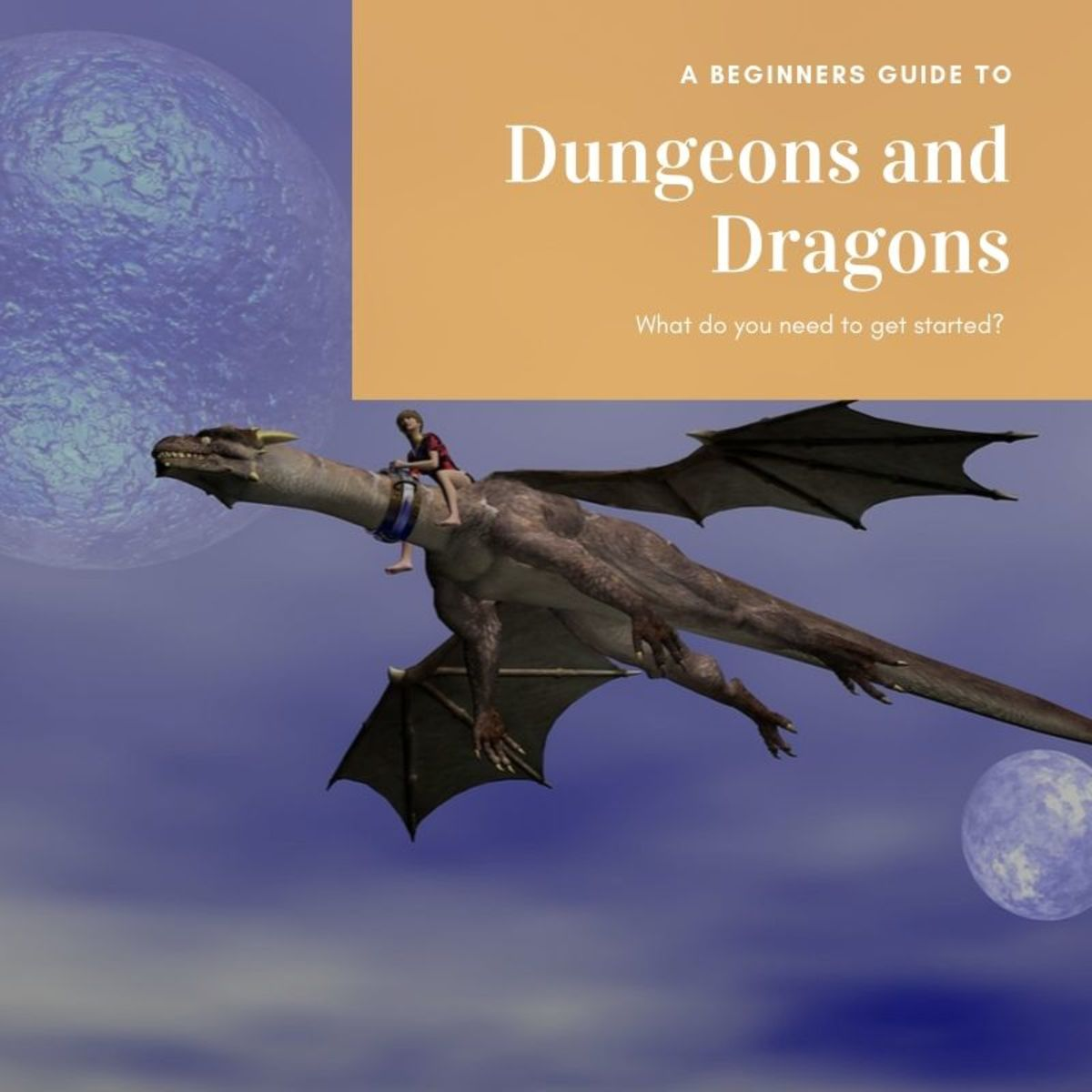 Since imagination and innovation are key components of D&D, the supplies you need to play will vary based on your personal style. However, there are a few items that will help get your game off to a great start.