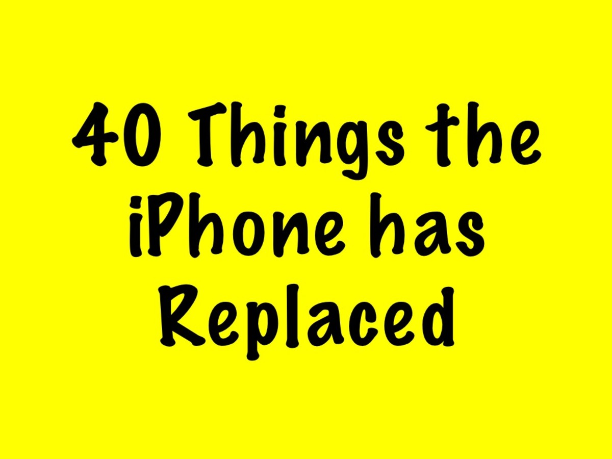 40 Things the iPhone Has Replaced