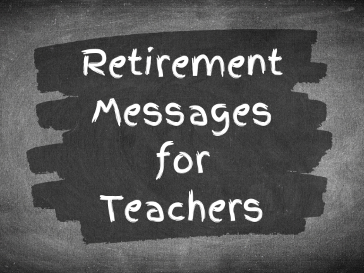 Get ideas for meaningful (or funny) things to write in a retirement card for a teacher or mentor.