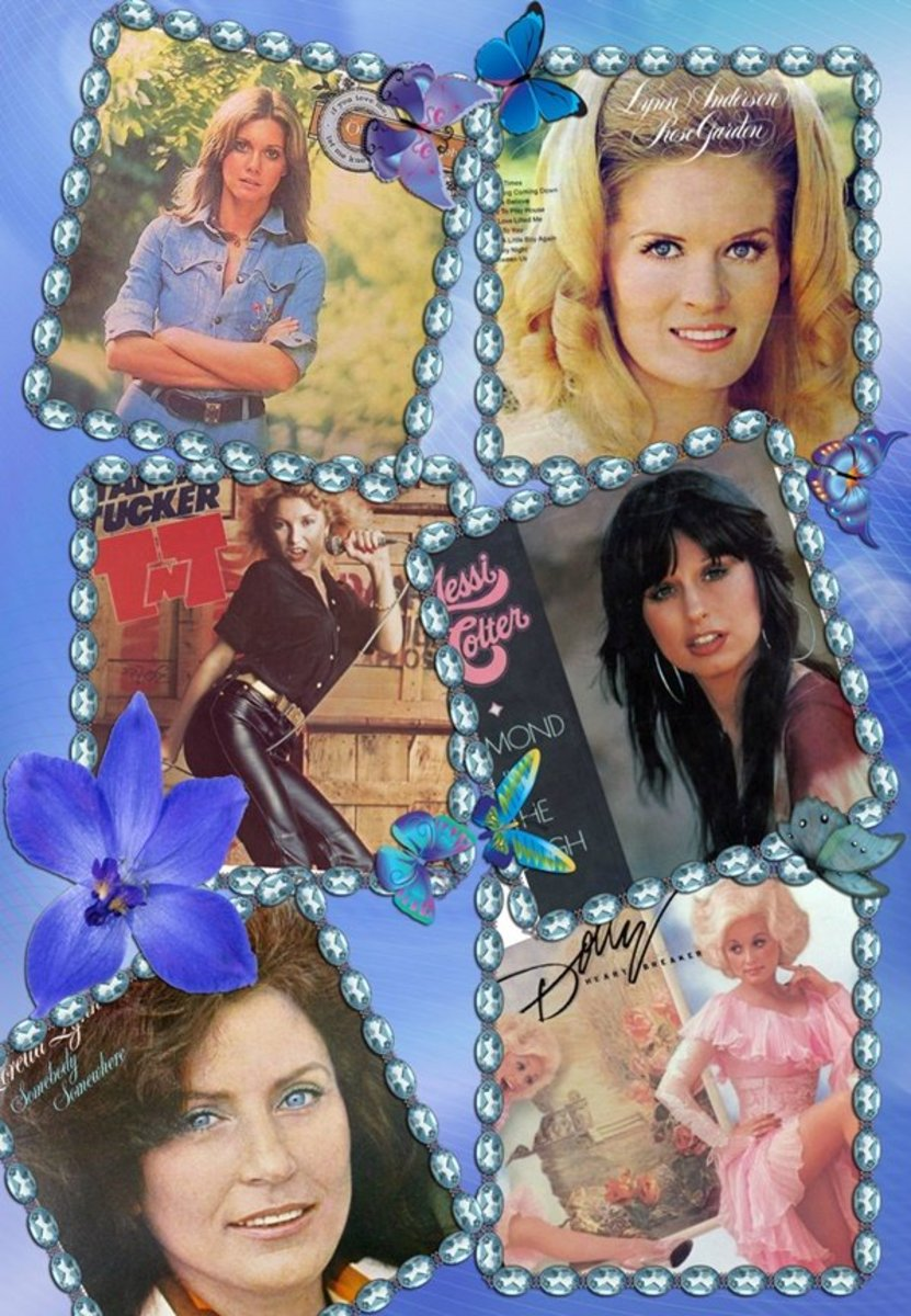 Popular 1970s Female Country Singers