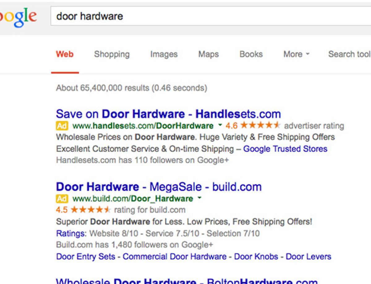 Google search:  Door Hardware