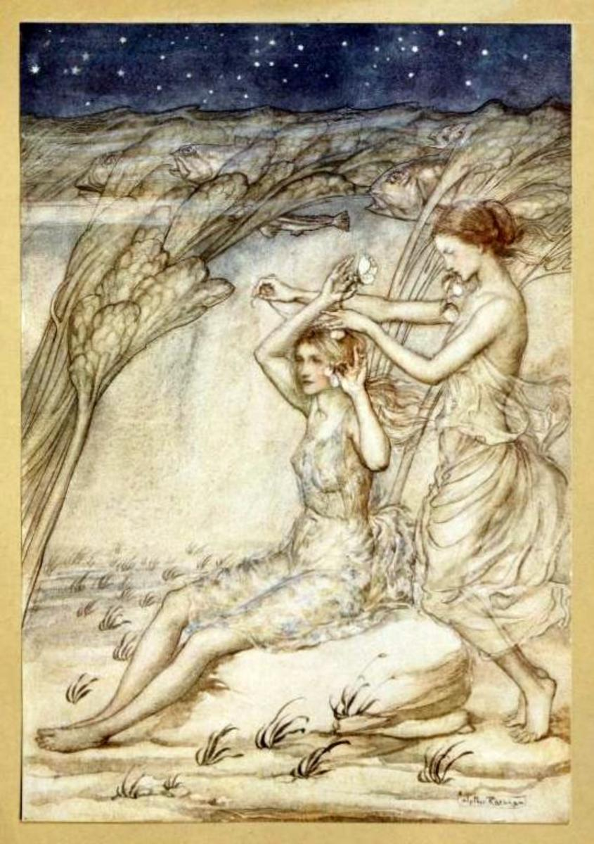 Sabrina: Fair Goddess of the Severn