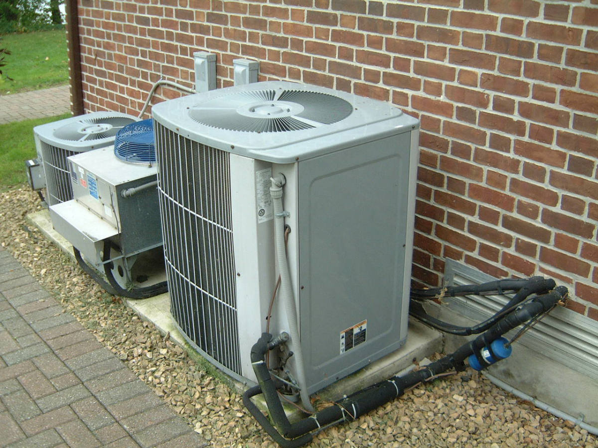 Insulate a heat pump's refrigerant lines with foam pipe insulation.
