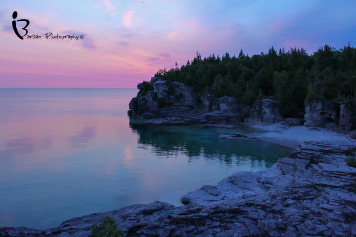 Cyprus Lake and The Grotto - Bruce Peninsula National Park