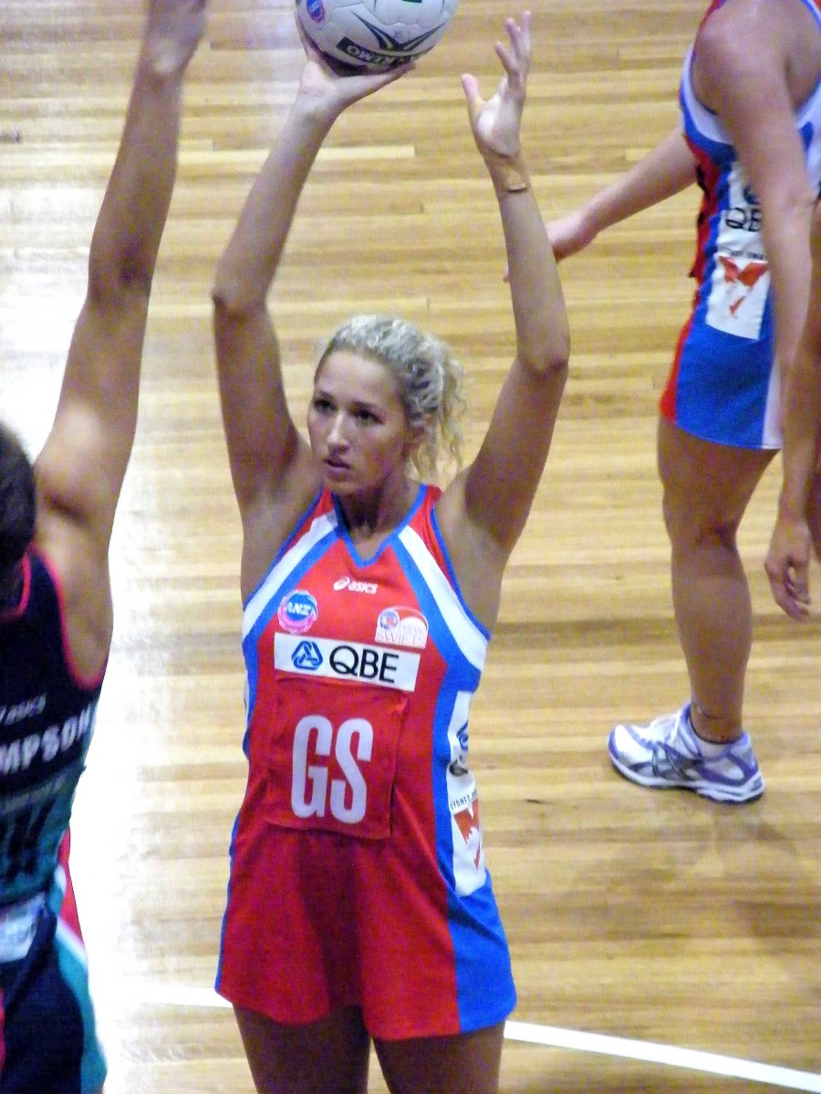 Women netball game