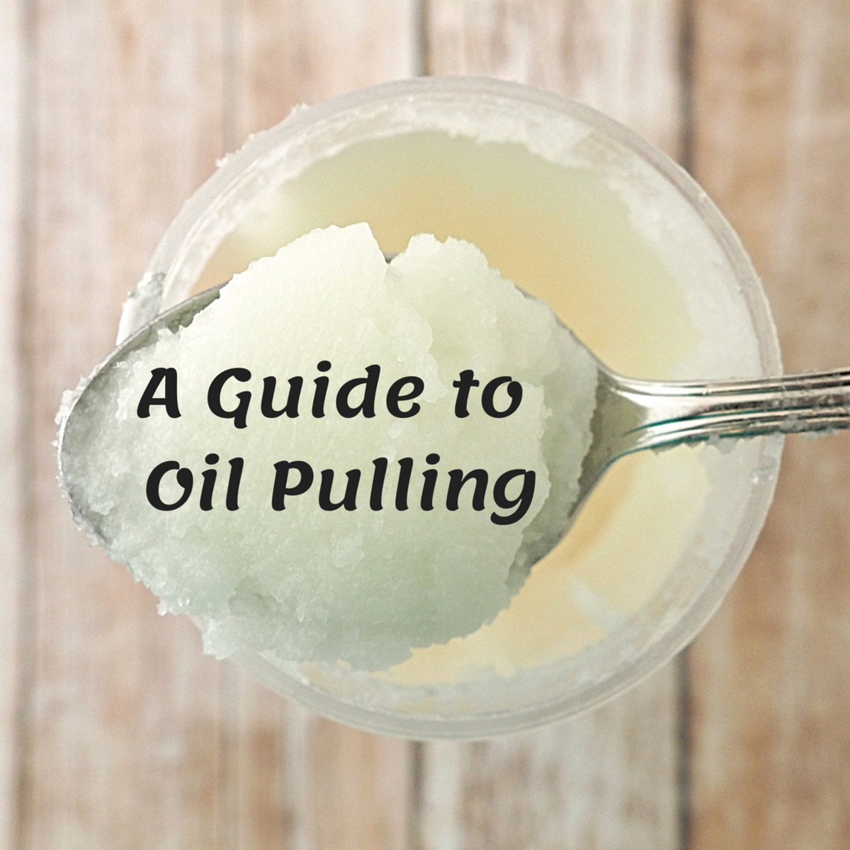 Oil Pulling simply means swishing a tablespoonful of oil in your mouth for up to 20 minutes.