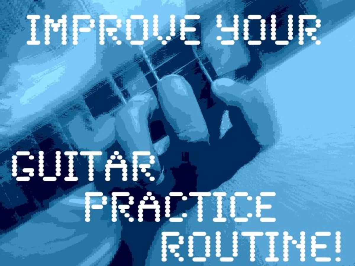 Seven Ways to Improve Your Guitar Practice Routine