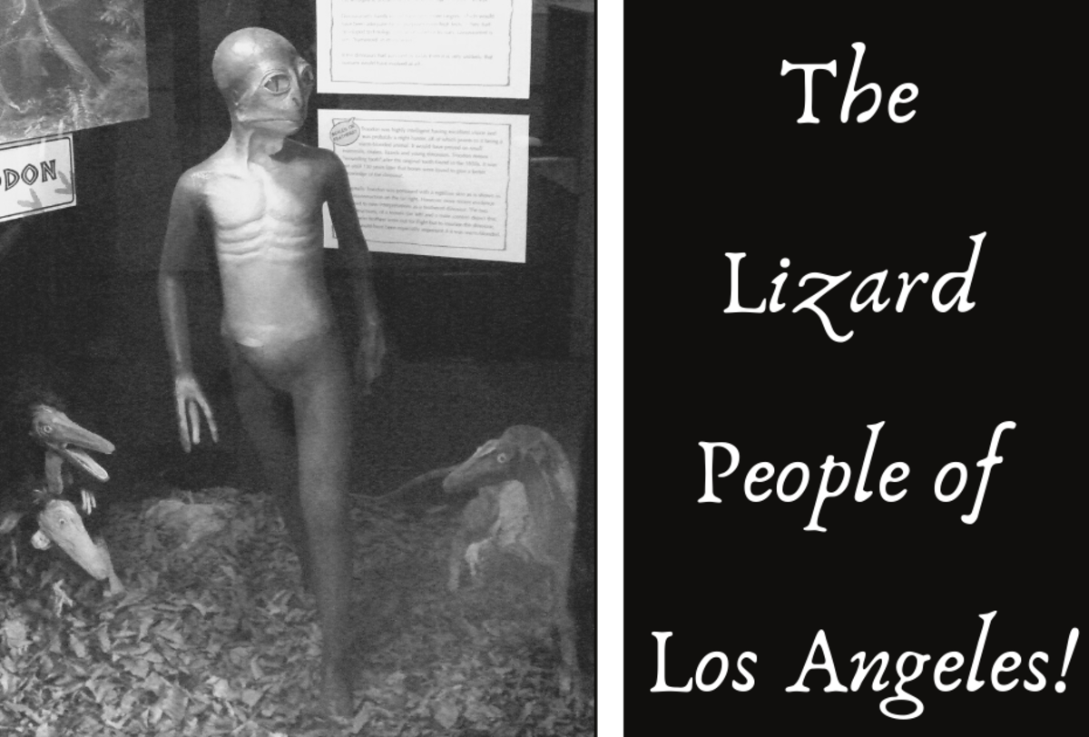 The Strange Tale of the Lost City of the Lizard People of Los Angeles