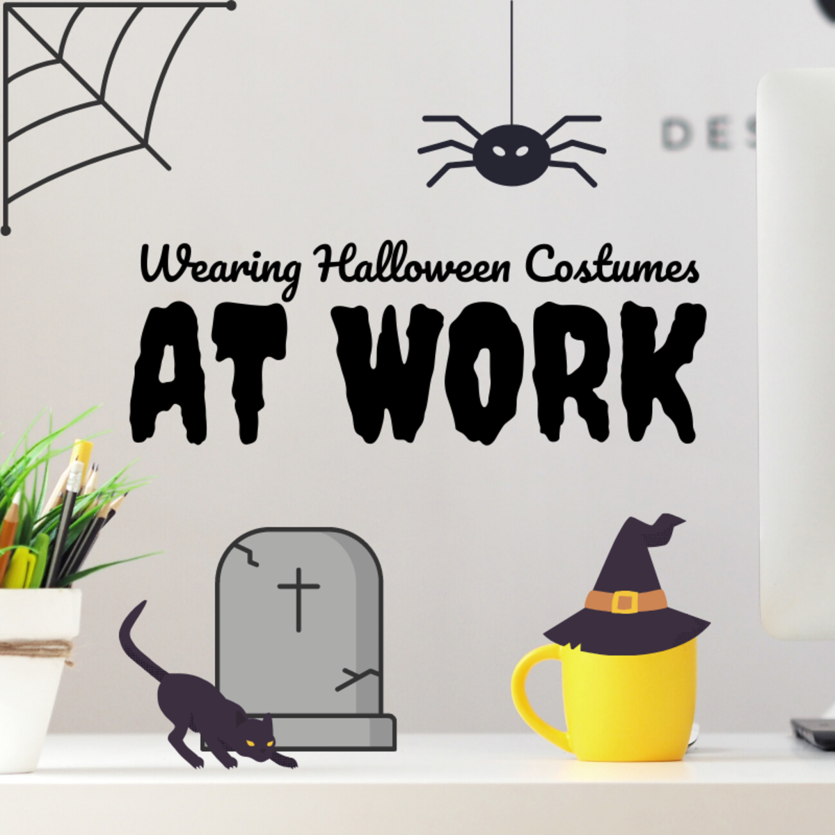 When it comes to Halloween, dressing up for work is a little different than dressing up for a Halloween party. Learn the dos and don'ts of workplace costumes!