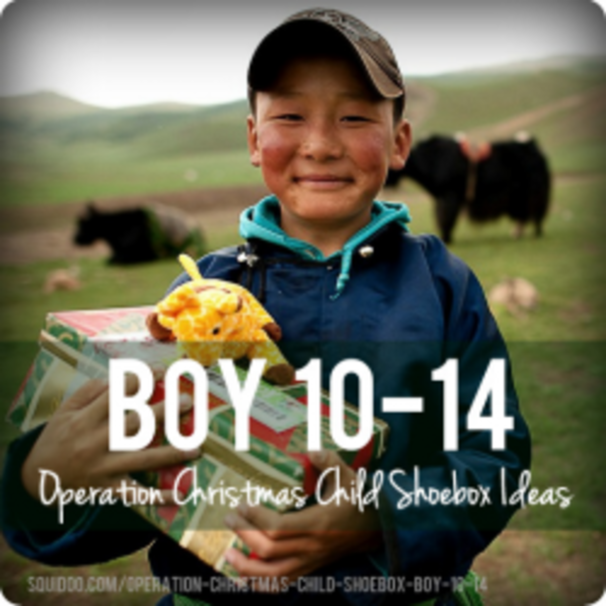 Operation Christmas Child Shoebox Ideas for Boys Aged 10-14