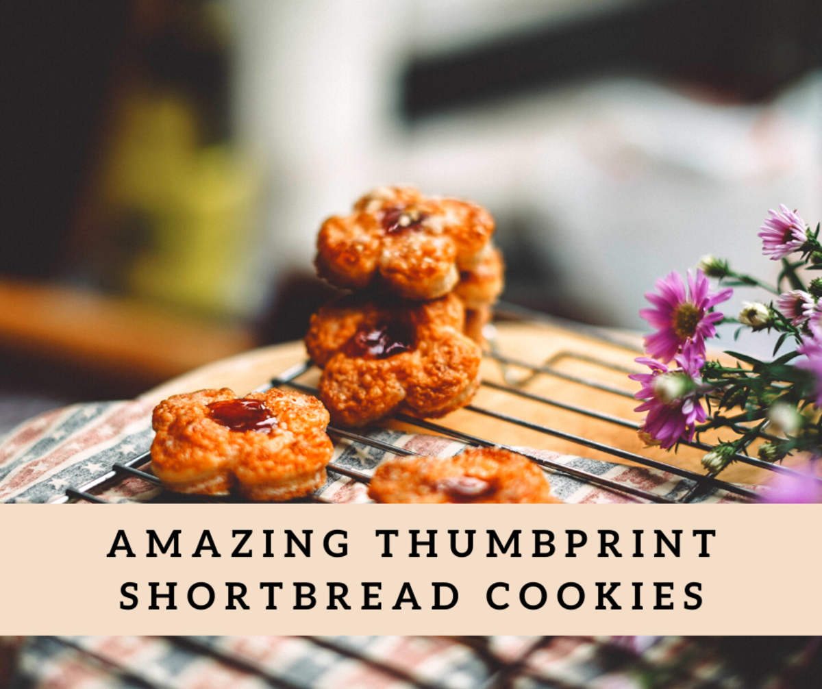 The Ultimate Thumbprint Shortbread Cookies