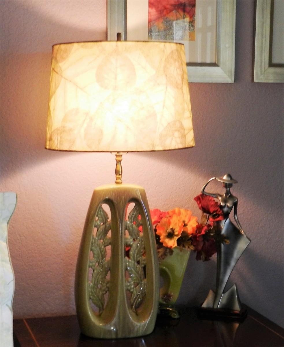 Rewire a vintage table lamp dengarden