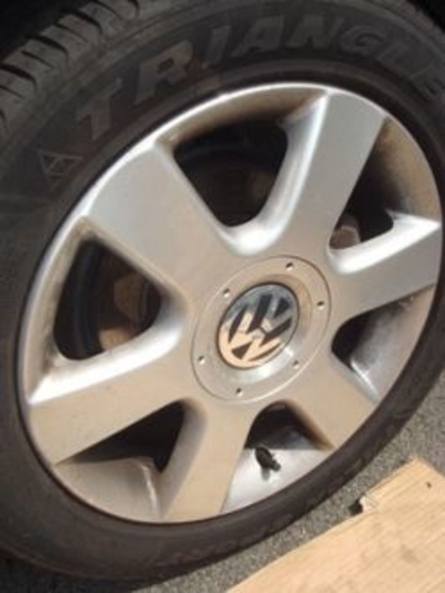 VW Touran Brake Pad Change