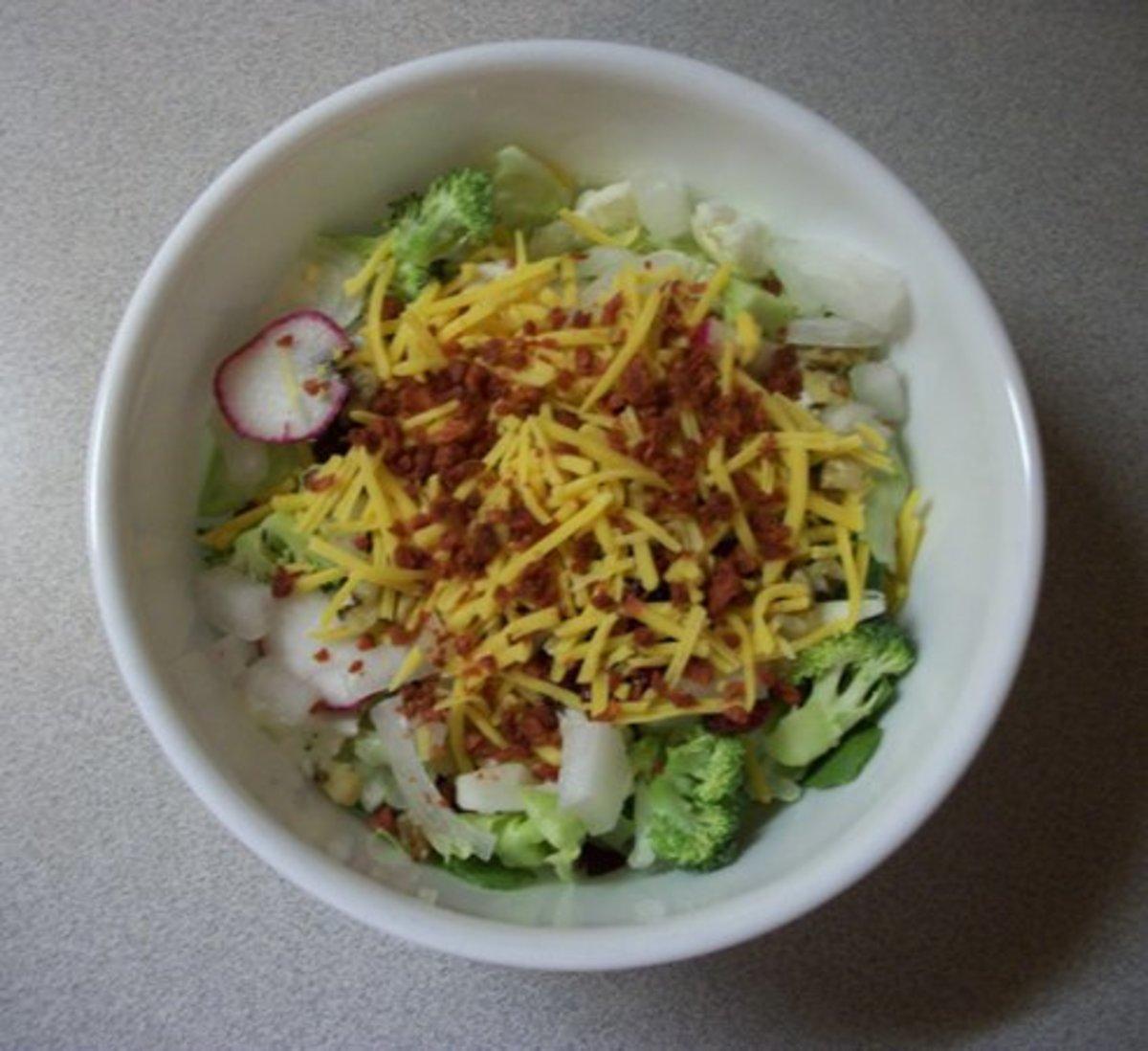 Ken's Favorite Tossed Salad Recipe