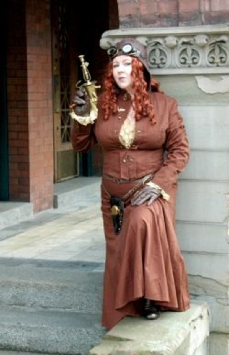 Steampunk basics costuming made easy holidappy for Easy steampunk ideas