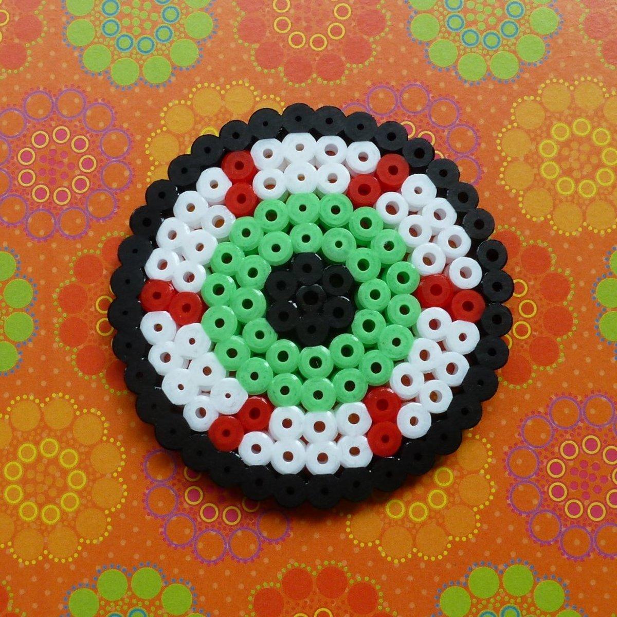 Perler Beads  Small Circle  Pegboard NEW