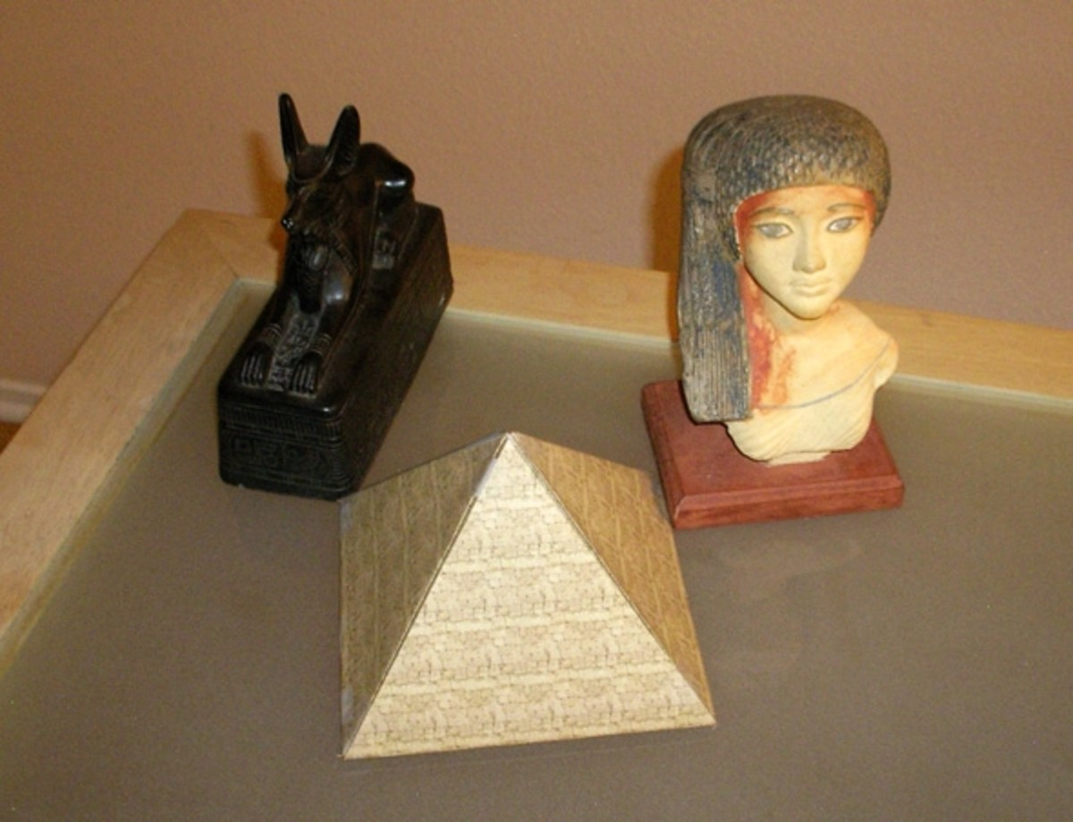 How to Make an Egyptian Pyramid Out of Cardboard How to Make an Egyptian