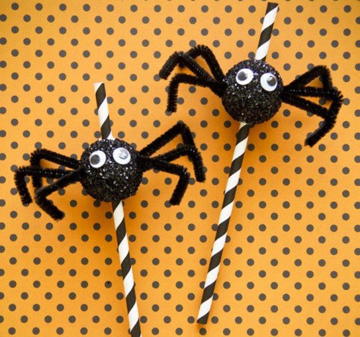 39 Creepy Spider Craft Ideas