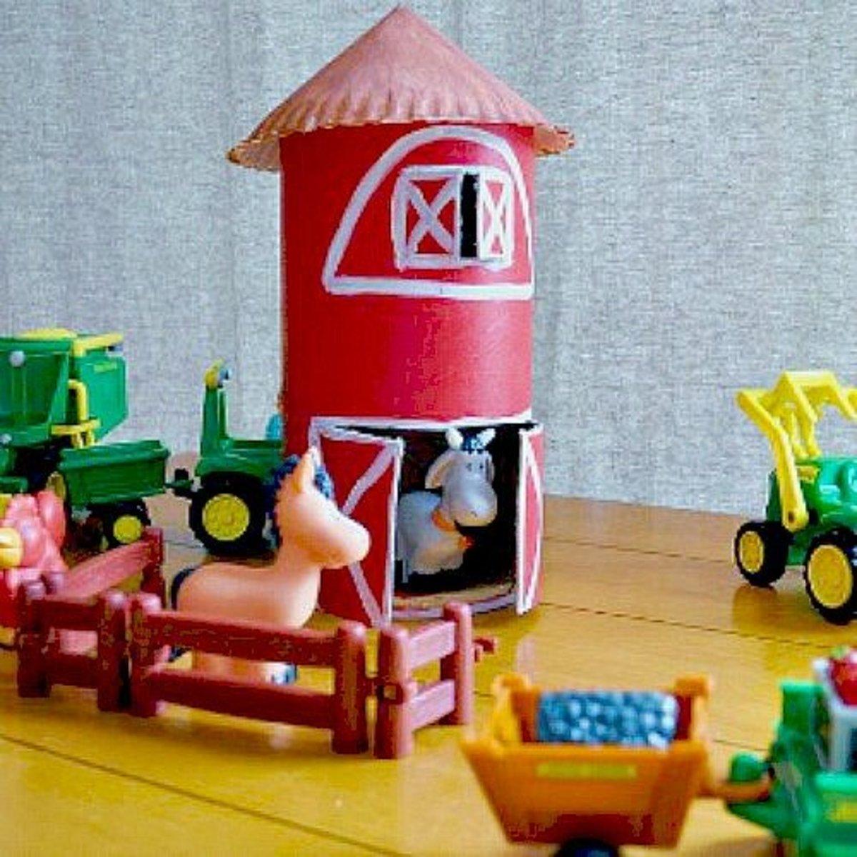 37 Excellent Oatmeal Box Craft Ideas Feltmagnet