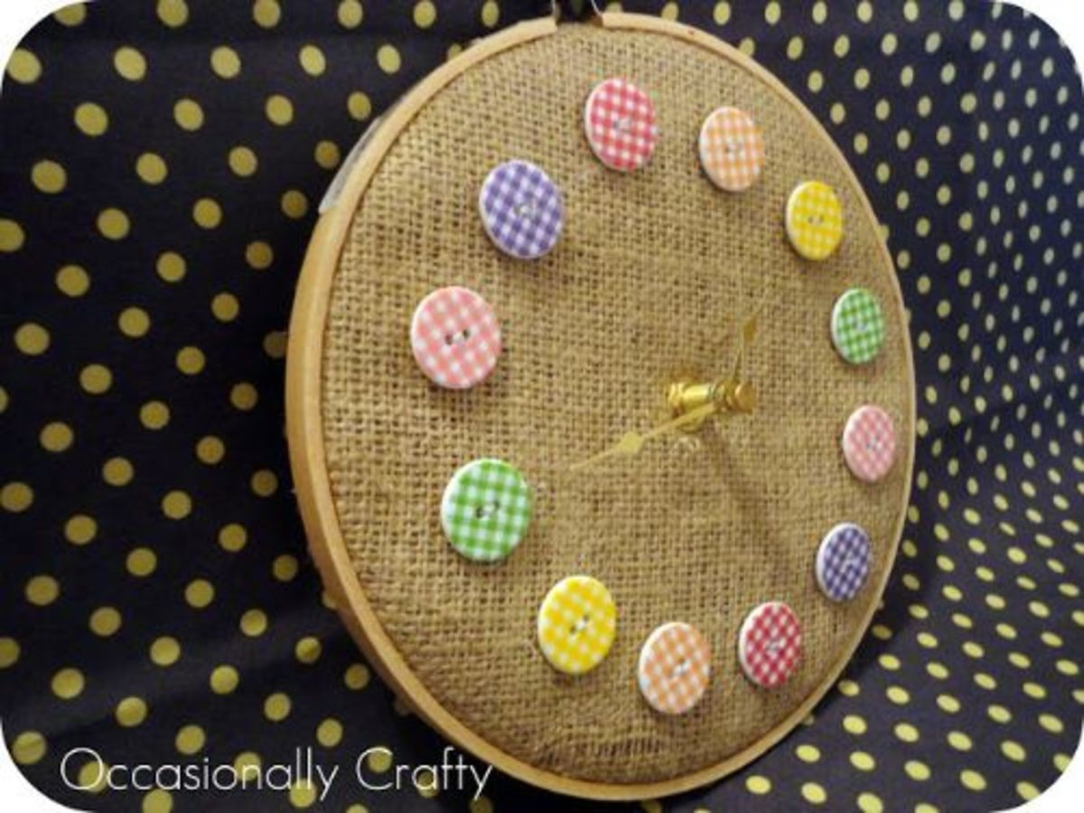 48 Excellent Button Craft Ideas