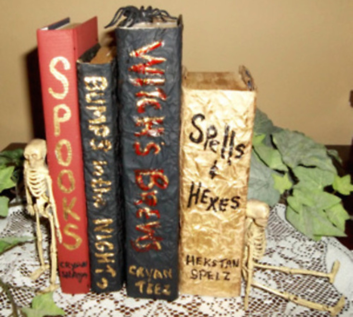 i enjoy making halloween crafts and these spooky books were especially fun to make to make it easy for you to follow the directions ive included