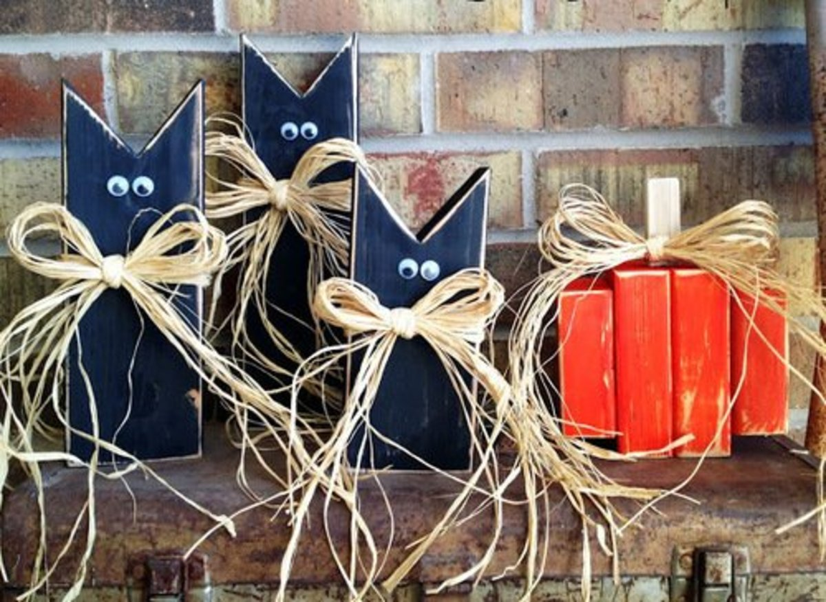 45 Inspiring Halloween Arts and Crafts Ideas