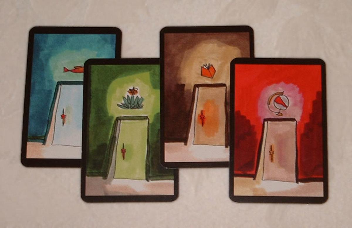 Onirim: the door cards