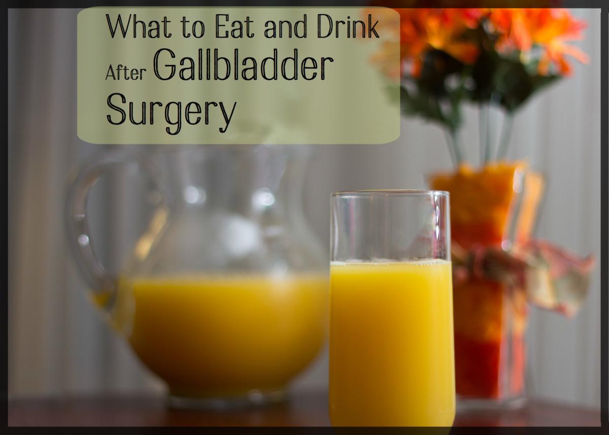 My Post-Gallbladder Surgery Diet