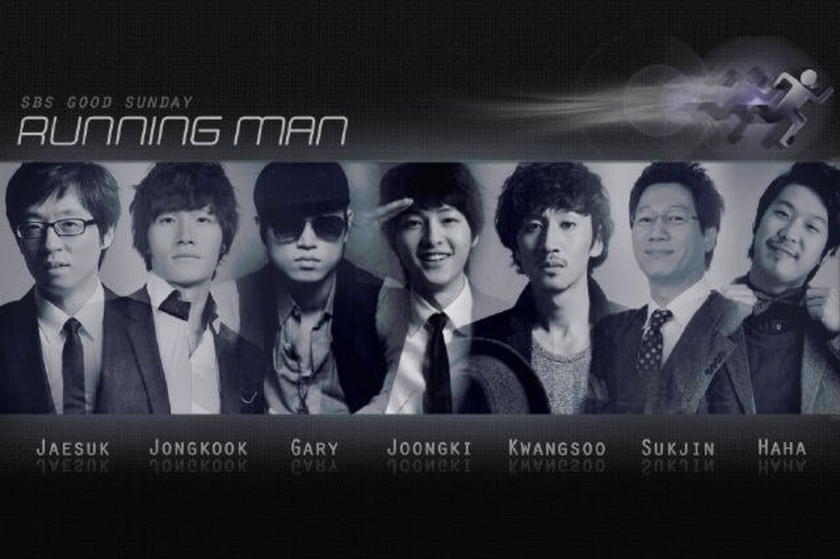 The original cast of Running Man
