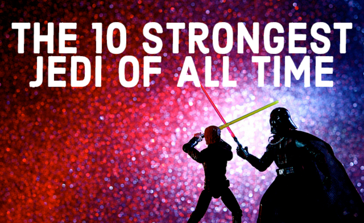 Ever wonder who the strongest Jedi of all time is? Here's a list of the 10 most powerful.