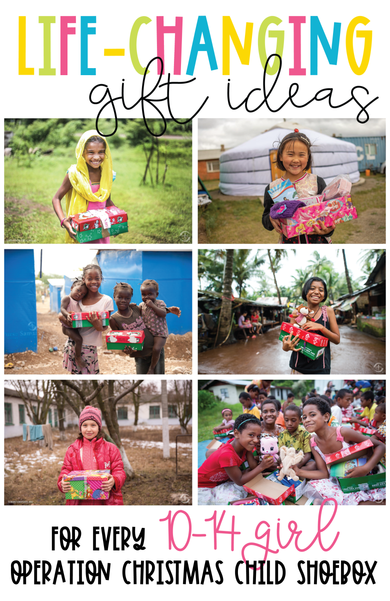 Operation Christmas Child Shoebox Ideas for a 10-14 Girl