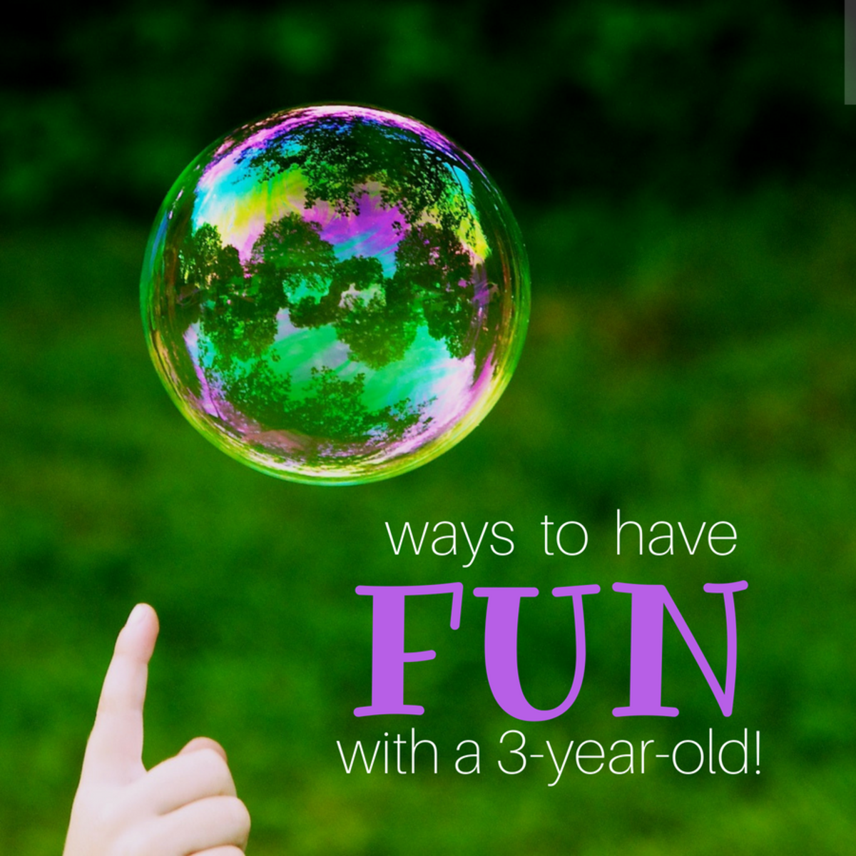 Activities To Do With Three Year Olds