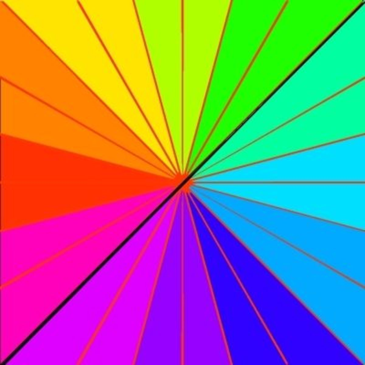 The Color Wheel-Square