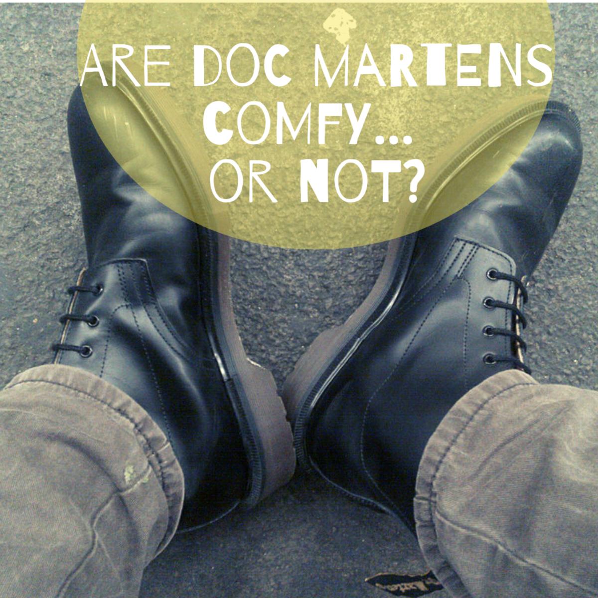 文件舒适吗?穿Martens靴子的10个理由