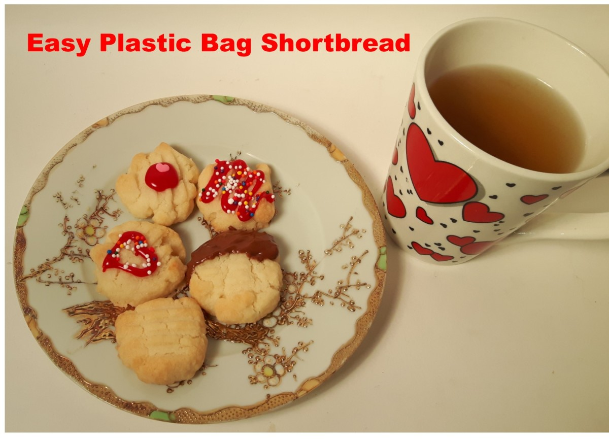 The Ultimate Plastic Bag Shortbread Cookies