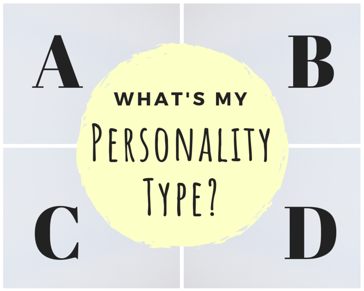 photo regarding Printable Personality Test With Results called What Is Your Temperament Design? Model A, B, C or D? Owlcation