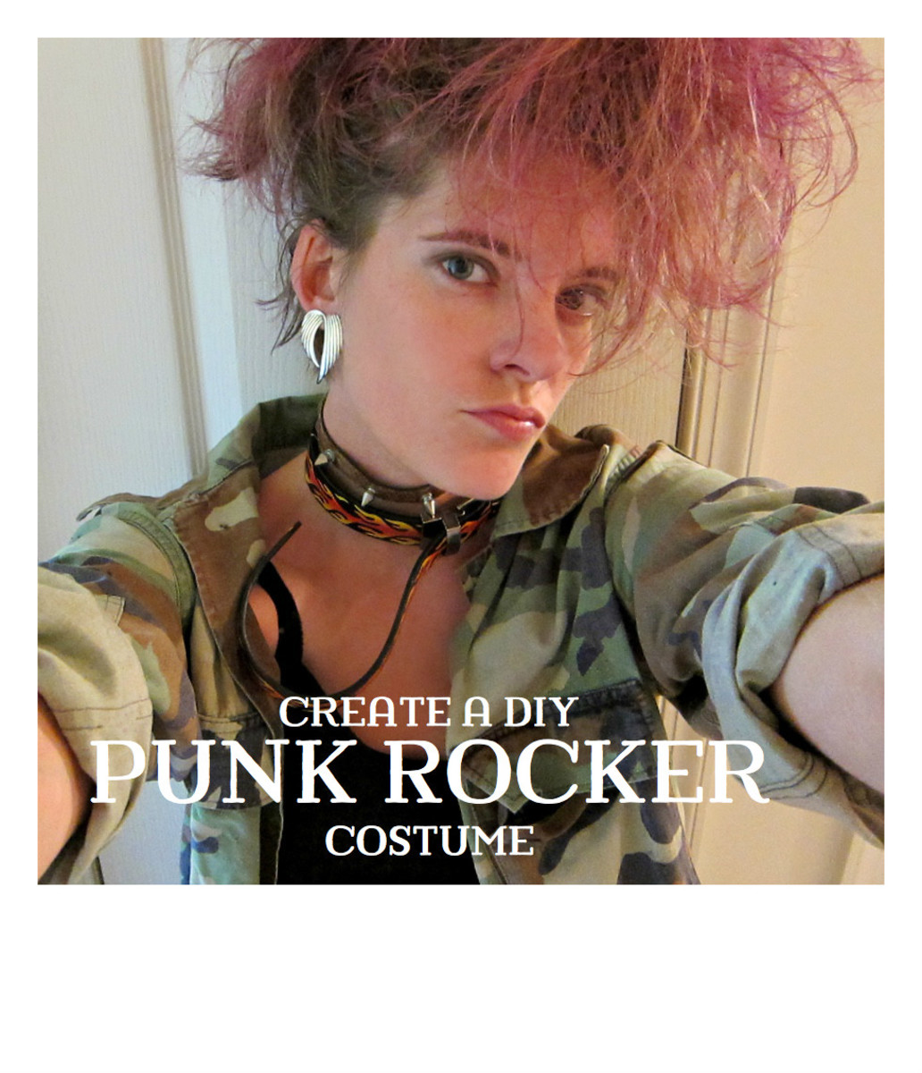 making a homemade punk costume ideas and instructions holidappy - Halloween Punk Costume
