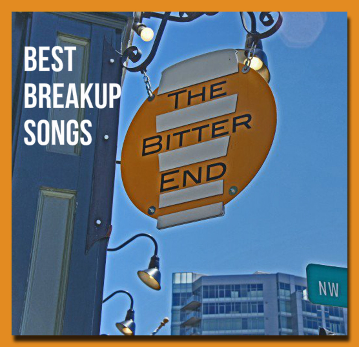 When the love has fizzled, will you walk away with your head down, go cry in your beer, or hold your head high and just move on?  Here are songs to help get you through.
