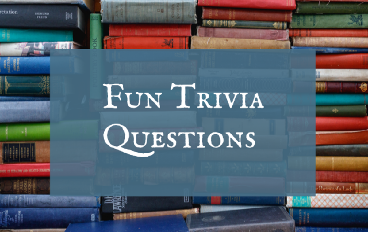 These fun questions will test your knowledge on a variety of topics.