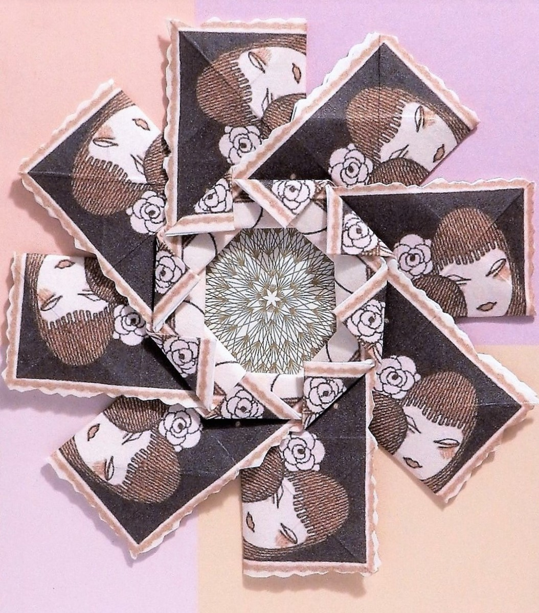 Tea Bag Folding—A Flat Unit Origami Craft
